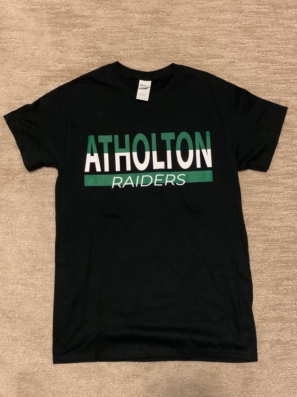 Atholton Raiders T shirt- small, black
