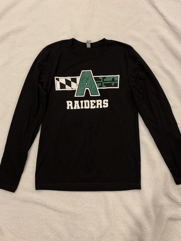 Raiders Longsleeve T-shirt, black