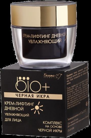 Dnevna hidraciona krema za lice -BIO+ Crni kavijar- 45g