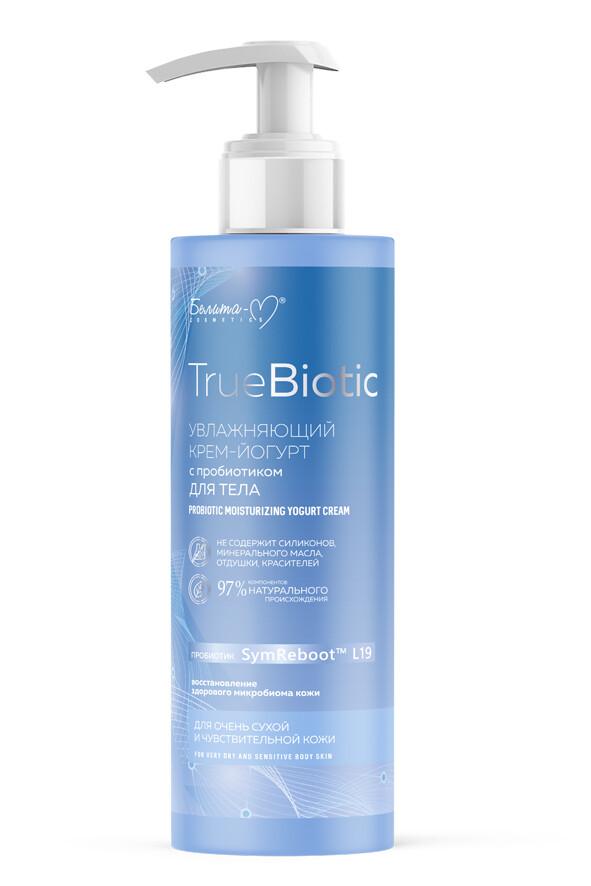 Probiotička hidratantna jogurt krema za vrlo suvu i osetljivu kožu tela TrueBiotic 190g