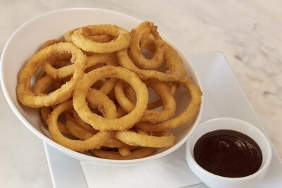 Freshly made Onion Rings