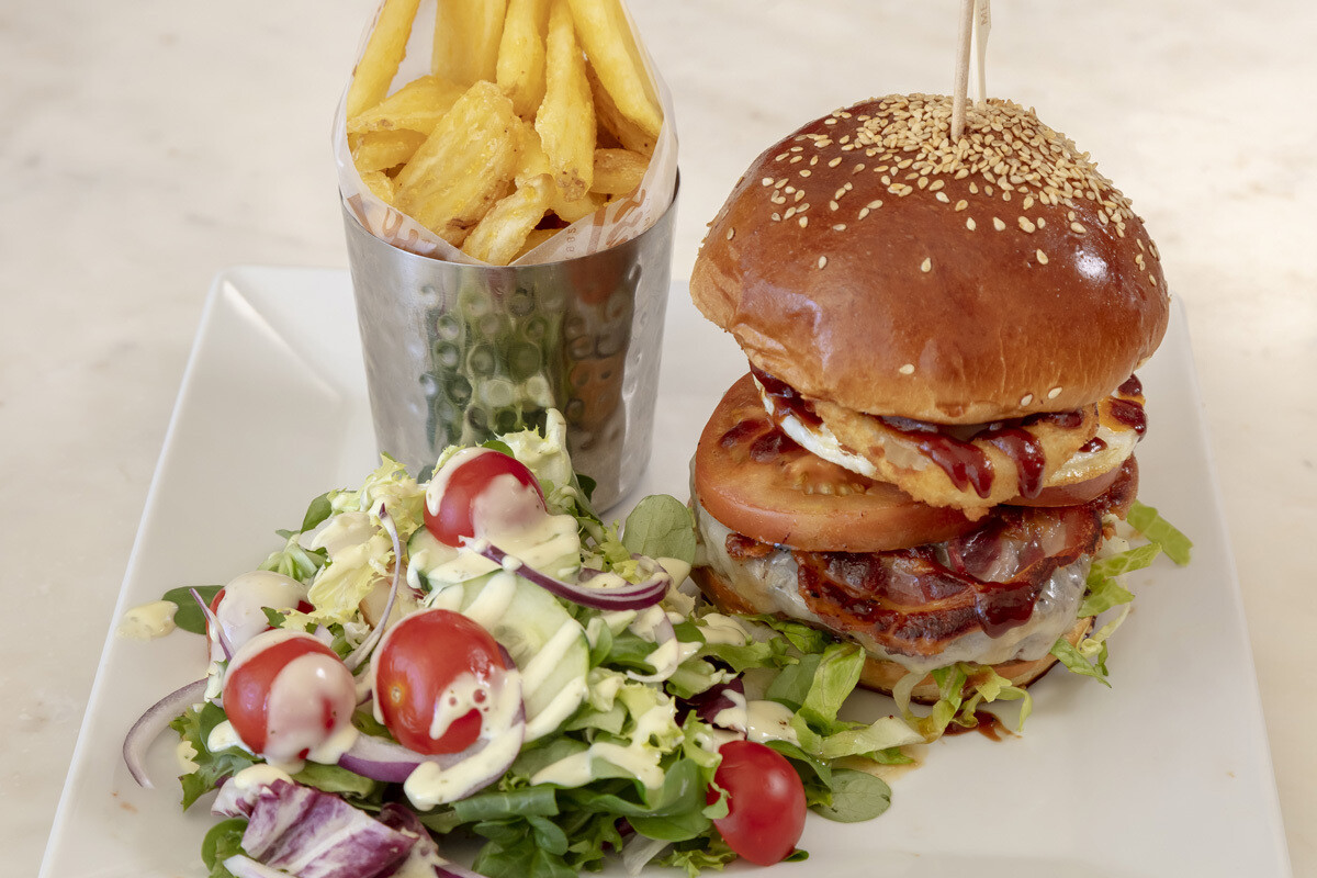 Picasso's Tower Burger