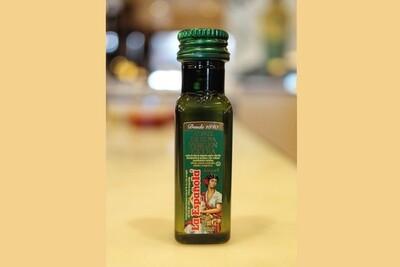 Botella de aceite de oliva, 20ml.