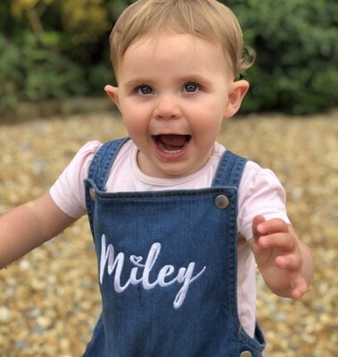 Dungarees With Optional Free Embroidered Name