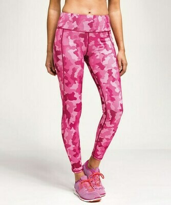 Camo Design Performance Leggings
