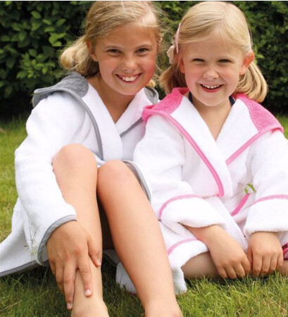 Kids Hooded Robe