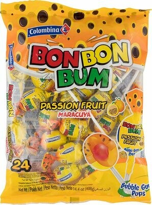 Bon Bon Bum passion fruit 24 Pack