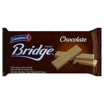 Bridge wafer chocolate 151g