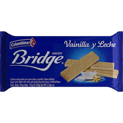 Bridge wafer milk & vanilla 151g