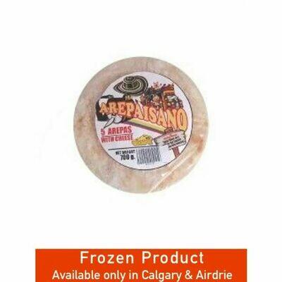 Arepaisano 5  Arepas with Cheese 600g