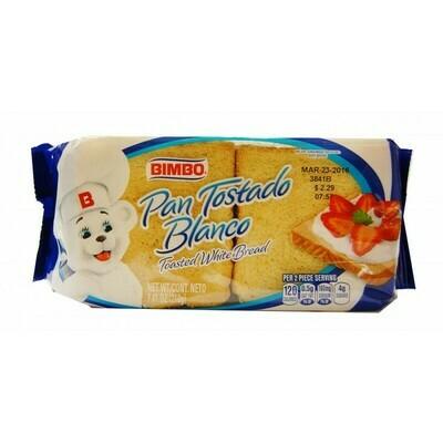 Bimbo Toasted Bread 7.2 oz