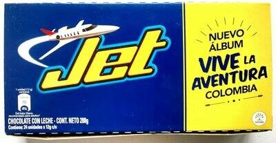 Chocolatina Jet x 24uni 284 G