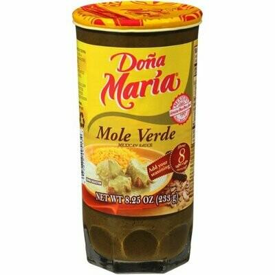 Doña María Green Mole 8.25oz
