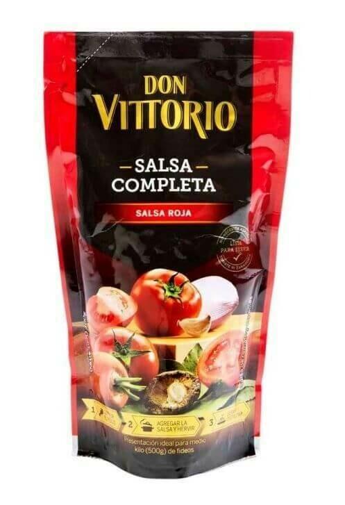 Don Vittorio Salsa Roja 400g