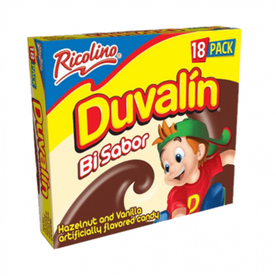 Duvalin Halzenut and Vanilla 18 pieces
