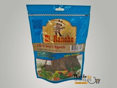 El Rancho Chile seco chipotle 60 g