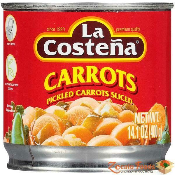 La Costena Pickled Carrots