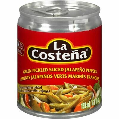 La Costena Green Pickled Sliced 193ml
