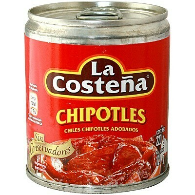 La Costena Chipotles Pepper In Adobo 340g