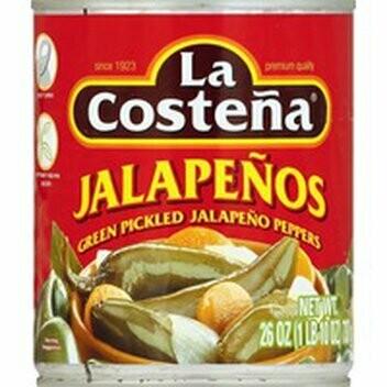 La Costena Green Pickled Jalapeno 200ml