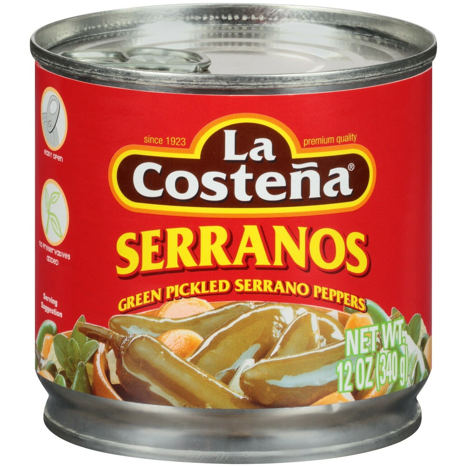 La Costena Serrano Pickled 7oz