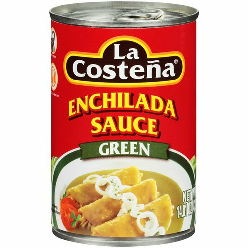 La Costeña enchiladas green sauce 14.81oz