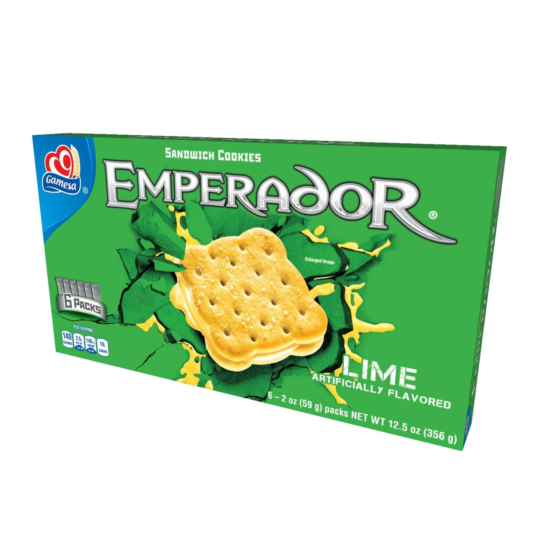 Gamesa Emperador Lemon 12.5 Oz