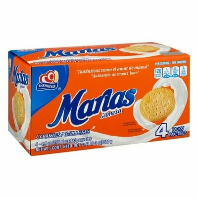 Gamesa Cookies Marias Box x 4