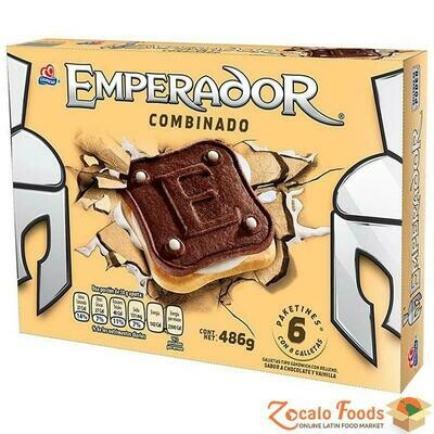 Gamesa Emperador Chocolate Vainilla 14.3 Oz