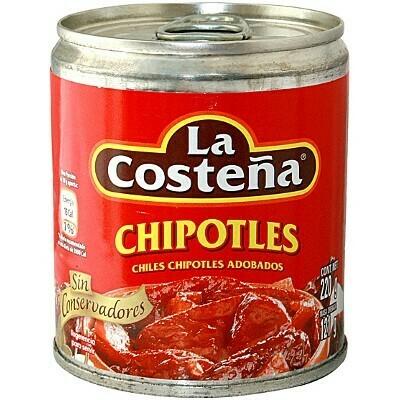 La Costeña chipotle peppers 6.55oz