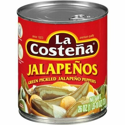 La Costeña Whole Jalapeños 340 g