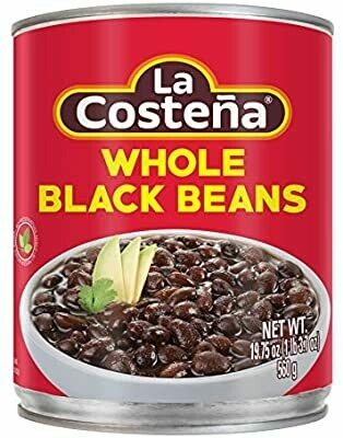 La Costeña Whole Black Beans 560g