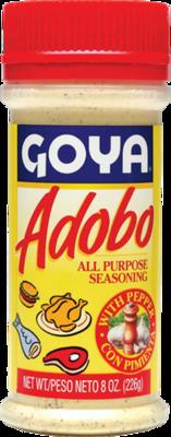 Goya Adobo with Pepper 12 oz