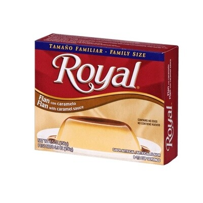 Royal Flan With Caramel Sauce 156g