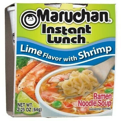 Maruchan Lime With Shrimp 64g