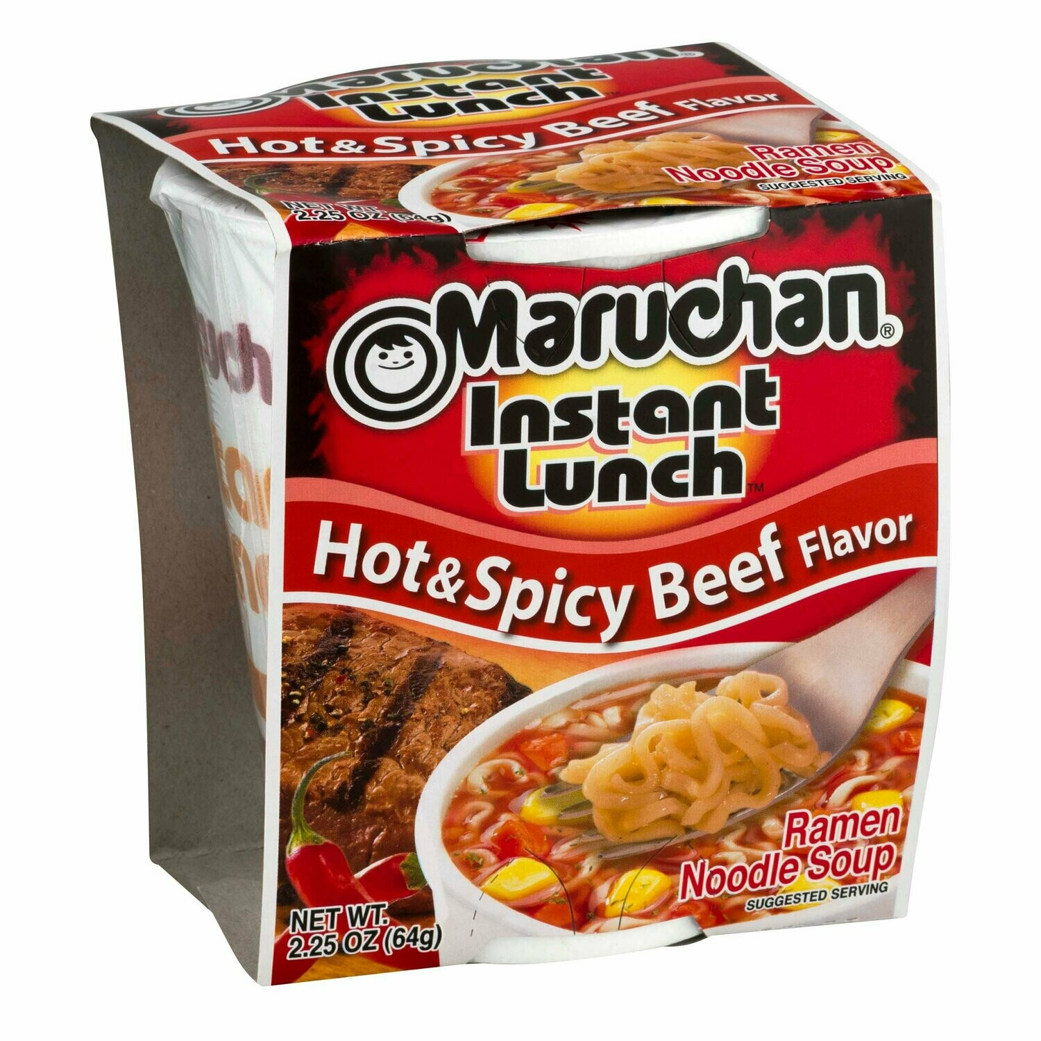 Maruchan Hot And Spicy Beef 64g
