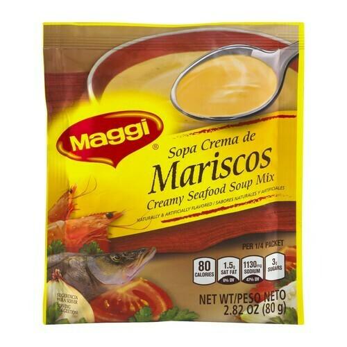 Maggi Sopa Crema De Mariscos 80g