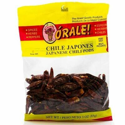 Orale Chile Japones 85g