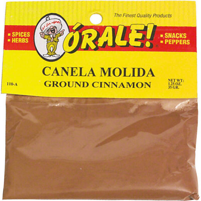 Orale Cinnamon Ground Canela 1.25 oz