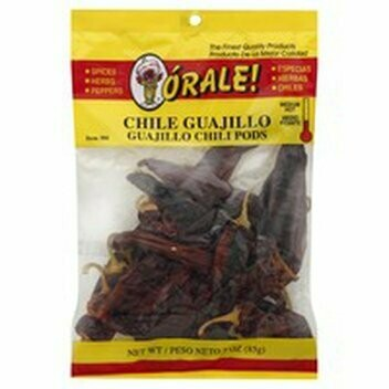 Orale Guajillo Chili Pods 3 oz