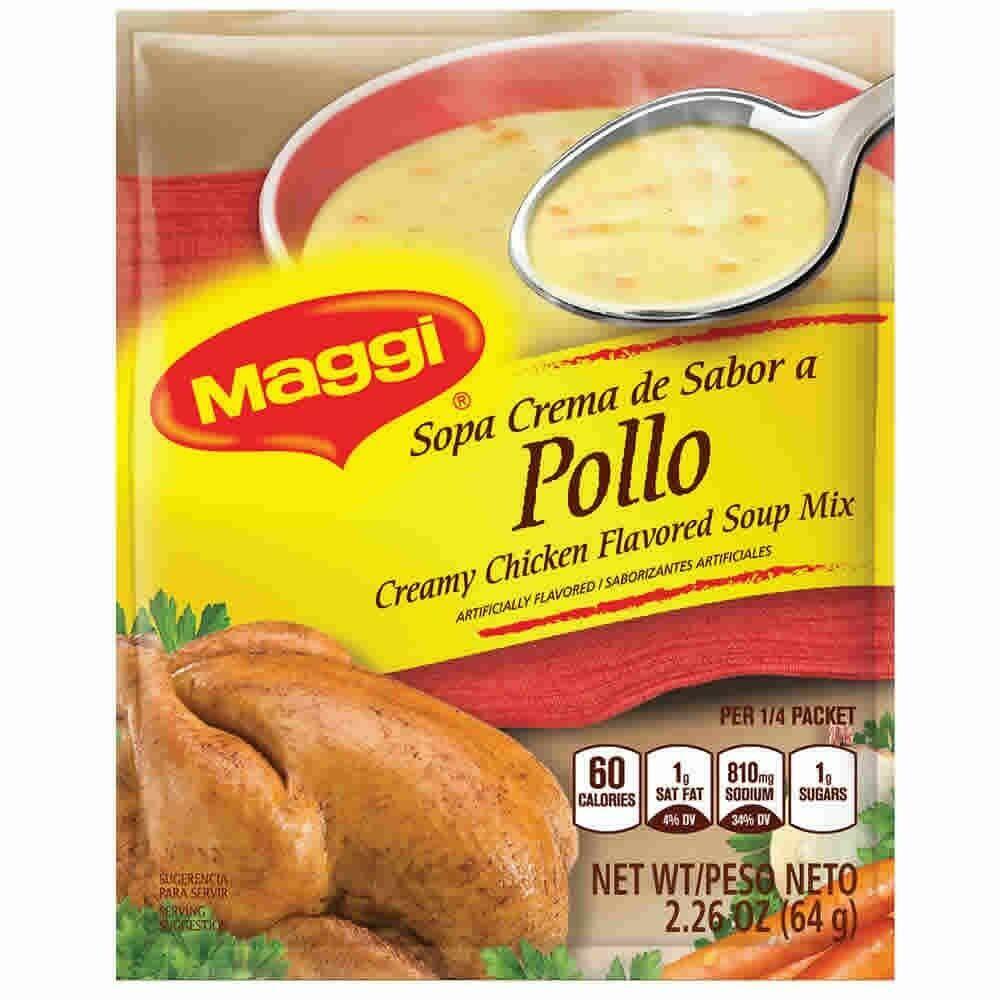 Maggi Sopa Crema Sabor A Pollo 64g