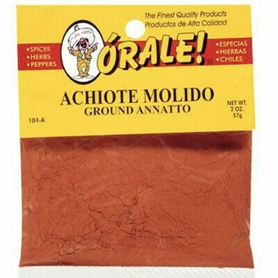 Orale Ground Achiote/Onoto 2oz
