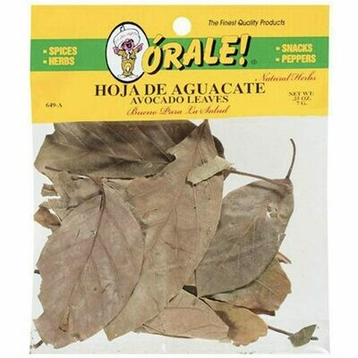 Orale Avocado Leaf / Aguacate 0.25 oz