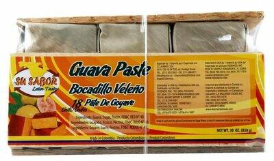 Su Sabor Guava Paste Bocadillo Veleno 18 Un