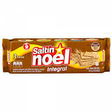 Noel Crackers Saltín Integral 415g