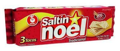 Noel Crackers Saltin 3 Tacos 300g