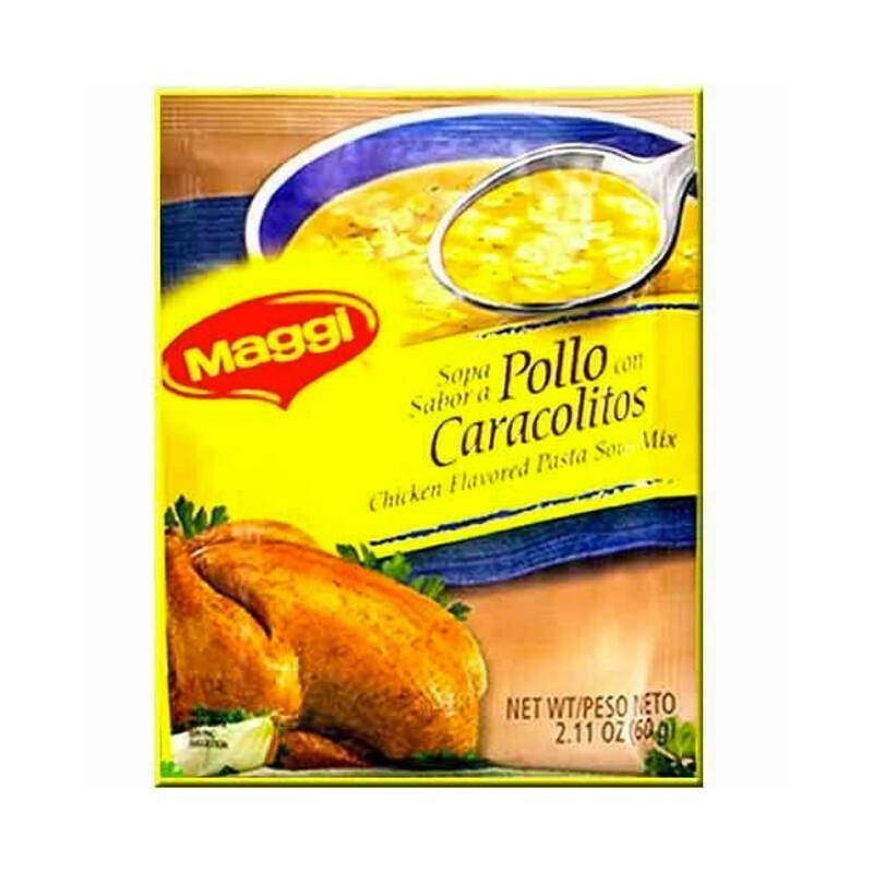 Maggi Sopa Sabor A Pollo Con Cachitos 60g