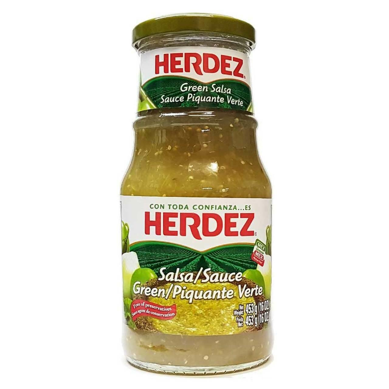 Herdez Salsa Verde 453g