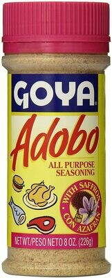 Goya Adobo with Saffron 8 oz