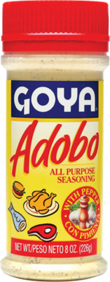Goya adobo with Pepper